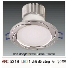 Đèn downlight led AFC 531B 7WB 1C