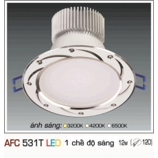 Đèn downlight led AFC 531T 12W 1C