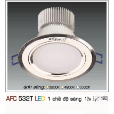 Đèn downlight led AFC 532T 12W 1C