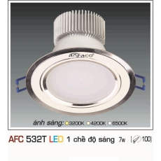 Đèn downlight led AFC 532T 7WB 1C