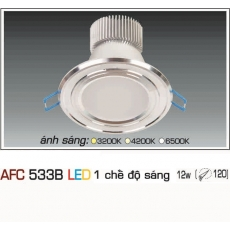 Đèn downlight led AFC 533B 12W 1C