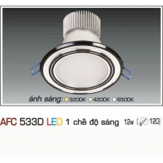 Đèn downlight led AFC 533D 12W 1C