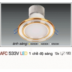 Đèn downlight led AFC 533V 12W 1C