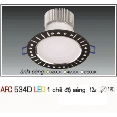 Đèn downlight led AFC 534D 12W 1C