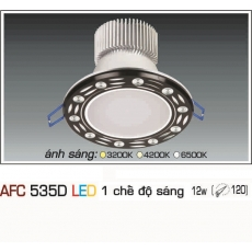Đèn downlight led AFC 535D 12W 1C