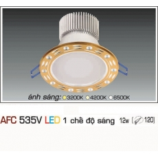 Đèn downlight led AFC 535V 12W 1C