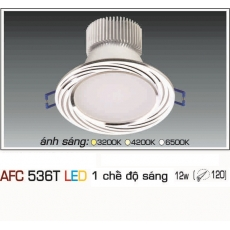 Đèn downlight led AFC 536T 12W 1C