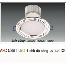Đèn downlight led AFC 536T 7WB 1C