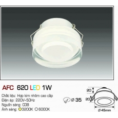 Đèn downlight led AFC 620 LED 1W