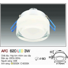Đèn downlight led AFC 620 LED 3W