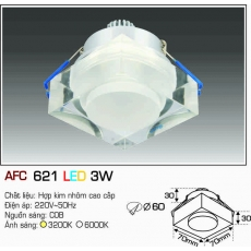 Đèn downlight led AFC 621 LED 3W