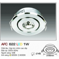 Đèn downlight led AFC 622 LED