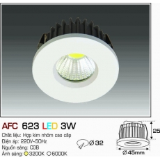 Đèn downlight led AFC 623 LED 3W