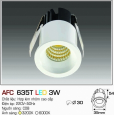 Đèn downlight led AFC 635T LED 3W