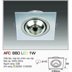 Đèn downlight led AFC 660 LED 1W