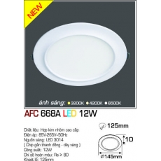 Đèn downlight led AFC 668A LED 12W
