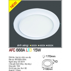 Đèn downlight led AFC 668A LED 15W