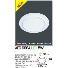 Đèn downlight led AFC 668A LED 5W