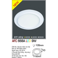 Đèn downlight ledAFC 668A LED 9W