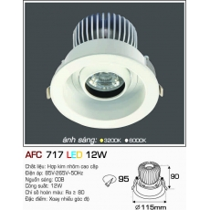 Đèn downlight led AFC 717 12W