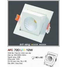Đèn downlight led AFC 720 7W