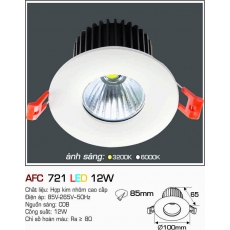 Đèn downlight led AFC 721 12W