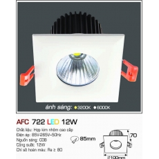 Đèn downlight led AFC 722 12W