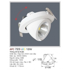 Đèn downlight led AFC 723 12W