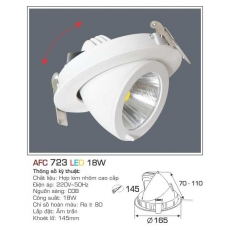 Đèn downlight led AFC 723 18W