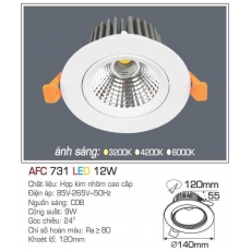Đèn downlight led AFC 731 12W
