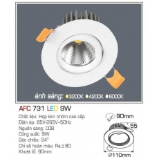 Đèn downlight led AFC 731 9W