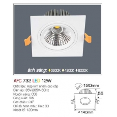 Đèn downlight led AFC 732 12W