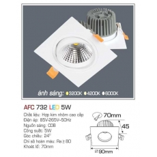 Đèn downlight led AFC 732 5W
