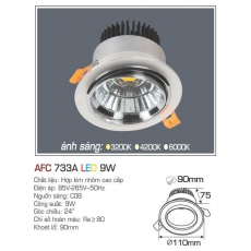 Đèn downlight led AFC 733A 9W