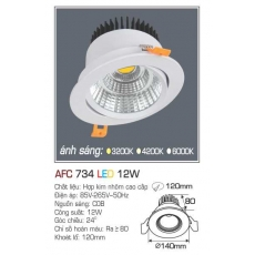 Đèn downlight led AFC 734 12W