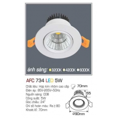Đèn downlight led AFC 734 5W