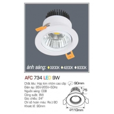 Đèn downlight led AFC 734 9W
