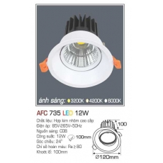 Đèn downlight led AFC 735 12W