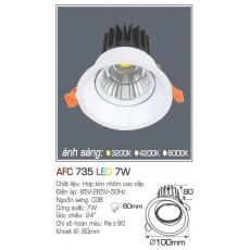 Đèn downlight led AFC 735 7W