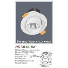 Đèn downlight led AFC 736 5W