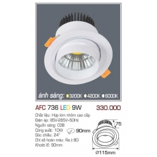 Đèn downlight led AFC 736 9W