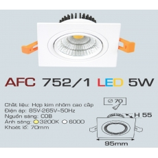 Đèn downlight led AFC 752/1 5W