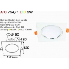 Đèn downlight led AFC 754/1 LED 9W