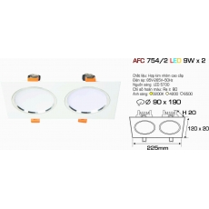 Đèn downlight led AFC 754/2 LED 9W