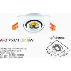 Đèn downlight led AFC 756/1 3W