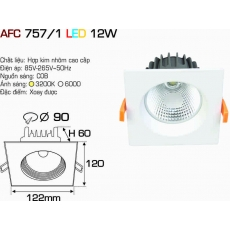 Đèn downlight led AFC 757/1 12W
