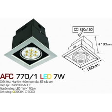 Đèn downlight led AFC 770/1 LED 7W