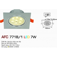 Đèn downlight led AFC 771B/1 7W