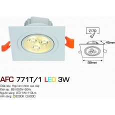 Đèn downlight led AFC 771T/1 3W