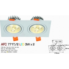 Đèn downlight led AFC 771T/2 3W